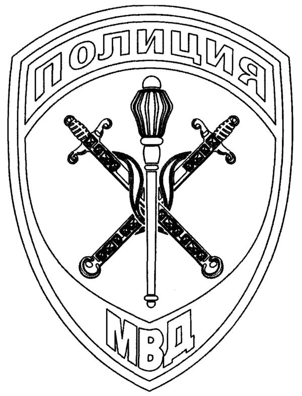 Шеврон руководителей (начальников) территориальных органов